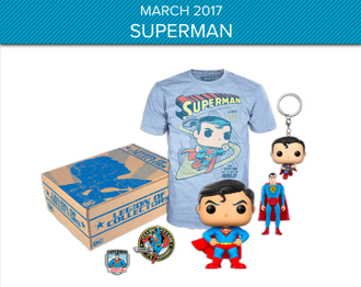 Funko Pop! DC Legion of collector: Superman - Коллекционный набор
