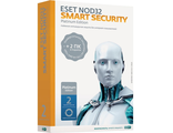 NOD32-ESS-NS (BOX)-2-1 антивирус ESET NOD32 Smart Security Platinum Edition Рус. (BOX) лицензия на 2 года