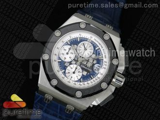 Royal Oak Offshore Ruben Barrichello II TT Blue
