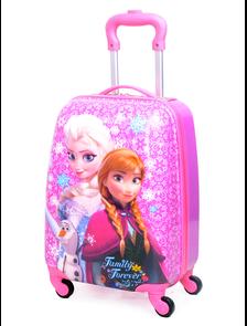 Детский чемодан на 4 колесах Холодное сердце Дисней