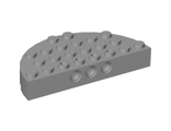 Brick, Round Corner 4 x 8 Full Brick Double, Light Bluish Gray (47974 / 4216733 / 4632356)