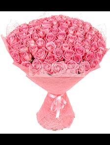 Розовый Сад (101 роза)