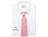 Рубашка CHARLES TYRWHITT Slim fit non-iron twill white shirt