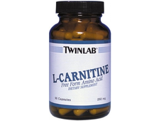 Twinlab L-Carnitine 250mg (90 капс.)