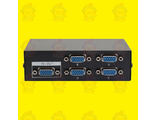 VGA Switch Splitter разветвитель на 4 PC (vga сплиттер)