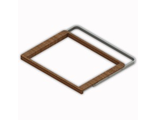 Рамка выдвижная деревянная 607х450мм. (венге)