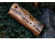Low meditative wooden ocarina in G#