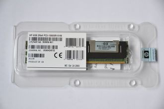 Модуль памяти HP 4GB RDIMM PC3-10600R-9 2Rank 2Rx4 (500658-B21) 501534-001, 500203-061