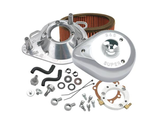170-0303B S&S CYCLE AIR CLEANER KIT CLASSIC TEARDROP STOCK EFI CHROME