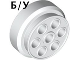 ! Б/У - Wheel 30mm D. x 13mm (13 x 24 Model Team), White (2695 / 269501) - Б/У