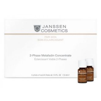 Janssen  Fair Skin 2-Phase Melafadin Concentrate 6х7,5 мл