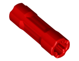 Technic, Axle Connector 3L, Red (26287 / 6153686)