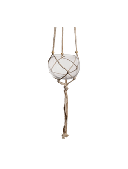 Подвесной декор HANGING BALL ANTOLIA D13CM COTTON+GLASS арт. 30957