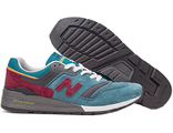 New Balance 997 Blue/Grey/Vine (47-50) арт-008
