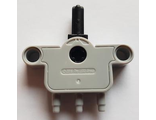 Pneumatic Switch with Pin Holes and Axle Hole, Light Bluish Gray (bb874 / 6099773)