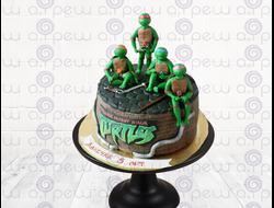"""Торт № 11 """"Черепашки Ниндзя"""" (Детские торты)"""