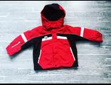 Зимняя мембранная куртка Icepeak цвет dark red