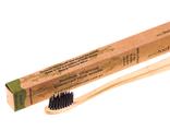 Зубная щетка из бамбука с угольным напылением, Мягкая Mini (Ecotoothbrush)