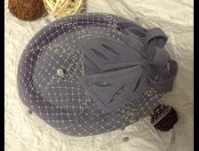 Дамские велюровые шляпки