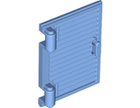 Shutter for Window 1 x 2 x 3 with Hinges and Handle, Medium Blue (60800a / 6152636)