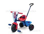 Детский трехколесный велосипед с ручкой для мальчика спб купить недорого в интернет магазине