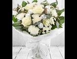 Букет цветов Белая Зима Белая