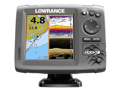 Картплоттер Lowrance Hook-5 Mid/High/DownScan™