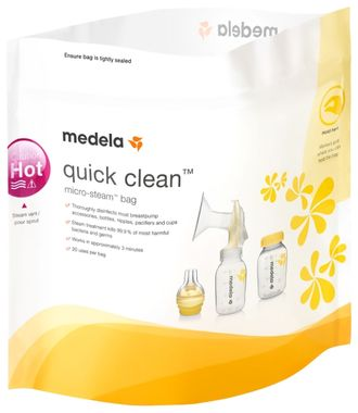 Пакеты для стерилизации Medela Quick Clean, 5 шт/уп