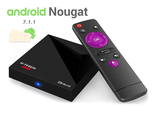 R-TV Box Mini+. Smart TV приставка. Android 7.1. Rockchip RK3328, 2 Гб / 16 Гб. Смарт ТВ, Кинотеатр, Медиаплеер и др.
