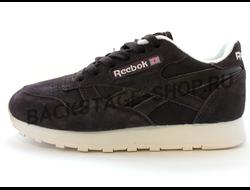 Кроссовки Reebok Classic Brown замшевые