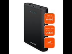 Портативное зарядное устройство аккумулятор Qumo 10400 ma