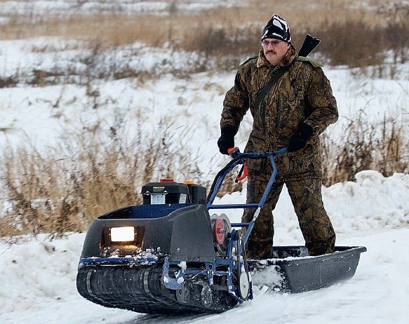 оптимальный снегоход для охоты и рыбалки