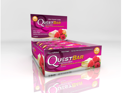 Raspberry & White Chocolate Quest Bar