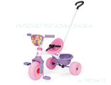 Детский трехколесный велосипед для девочки с ручкой купить в спб недорого с доставкой по Санкт-Петер