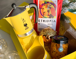 Набор Atlas Coffee + гейзер Bialetti + Zero Japan + джем