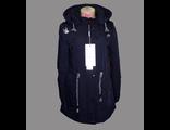 Женская весенняя куртка чёрная 002-086