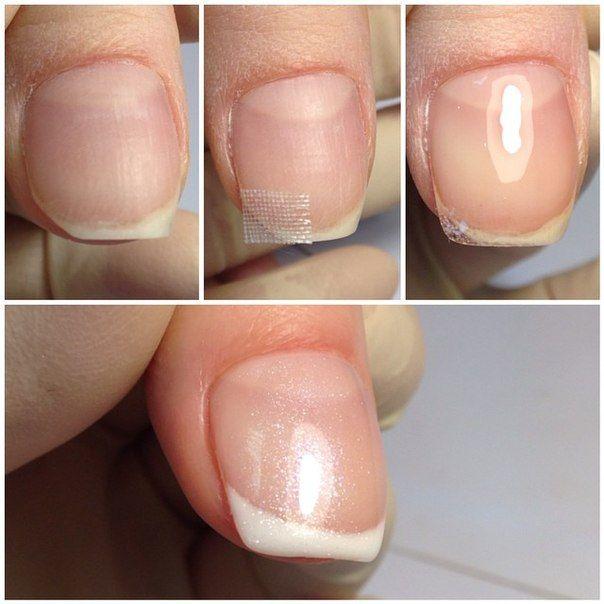 Ногти под гель лак в домашних условиях