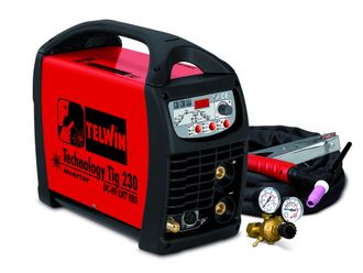 Сварочный аппарат TELWIN TECHNOLOGY TIG 230 DC-HF/LIFT 230V +ACC