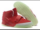 Nike Yeezy Kanye West мужские/женские красные (36-46)