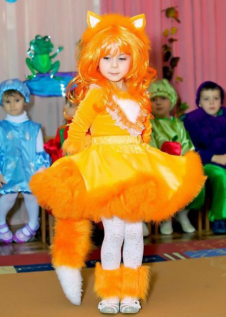 Детский карнавальный своими руками