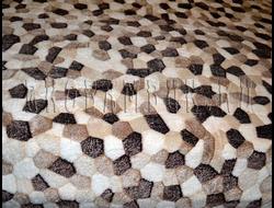 Плед из бамбука Мозайка 190х220