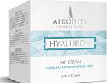 Крем для лица 24 часа Hyaluron для нормальной и комбинированной кожи 50 мл