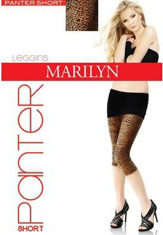 Legginsy Panter Short