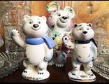 Фигурки-талисманы Sochi-2014