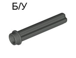 ! Б/У - Technic, Axle 3 with Stud, Dark Gray (6587 / 4113884) - Б/У