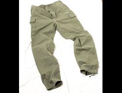 Оригинальные армейские брюки (германия, бундесвер) 80-х годов,  качество, такого сейчас уже не делают