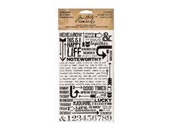 """Life Quotes"" натирки Ideaology, Tim Holtz"