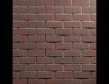 Фасадная плитка HAUBERK (Хауберк)  Обожженный кирпич (ТехноНИКОЛЬ) 2,5м2