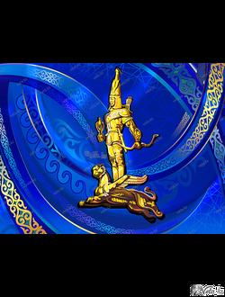 Символ независимости Казахстана - «Золотой человек»