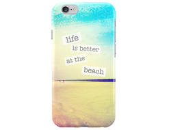 Чехол Life is better at the beach для iPhone 6 Plus/6S Plus